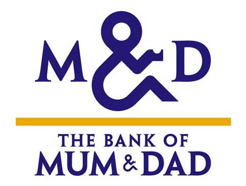 Children Can Bank on Mum and Dad