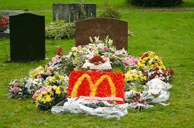 mcdonaolds funerals