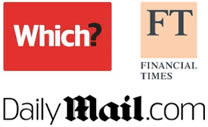 Which?, Financial Times, Daily Mail.com