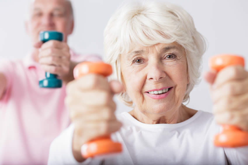 The older you get, the more staying healthy becomes a priority Image