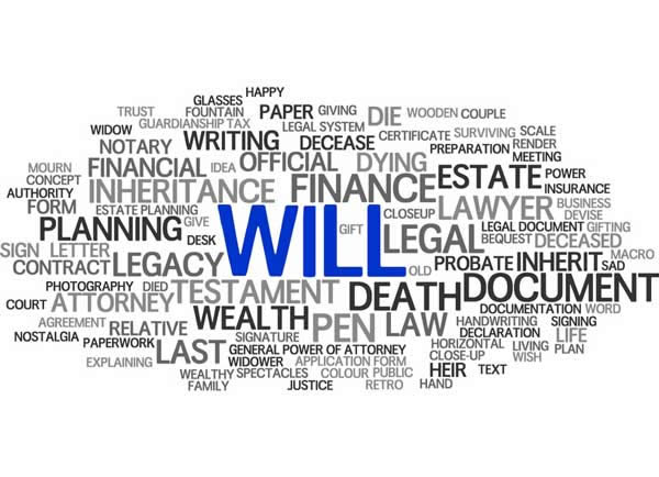 Why make a Will? Image